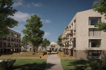 Tender Spoorzonde Juvenaat gewonnen!! Het voormalig internaatterrein wordt ontwikkeld naar 120 woningen. Plan ism de NBU, Rothuizen en studio AAAN .